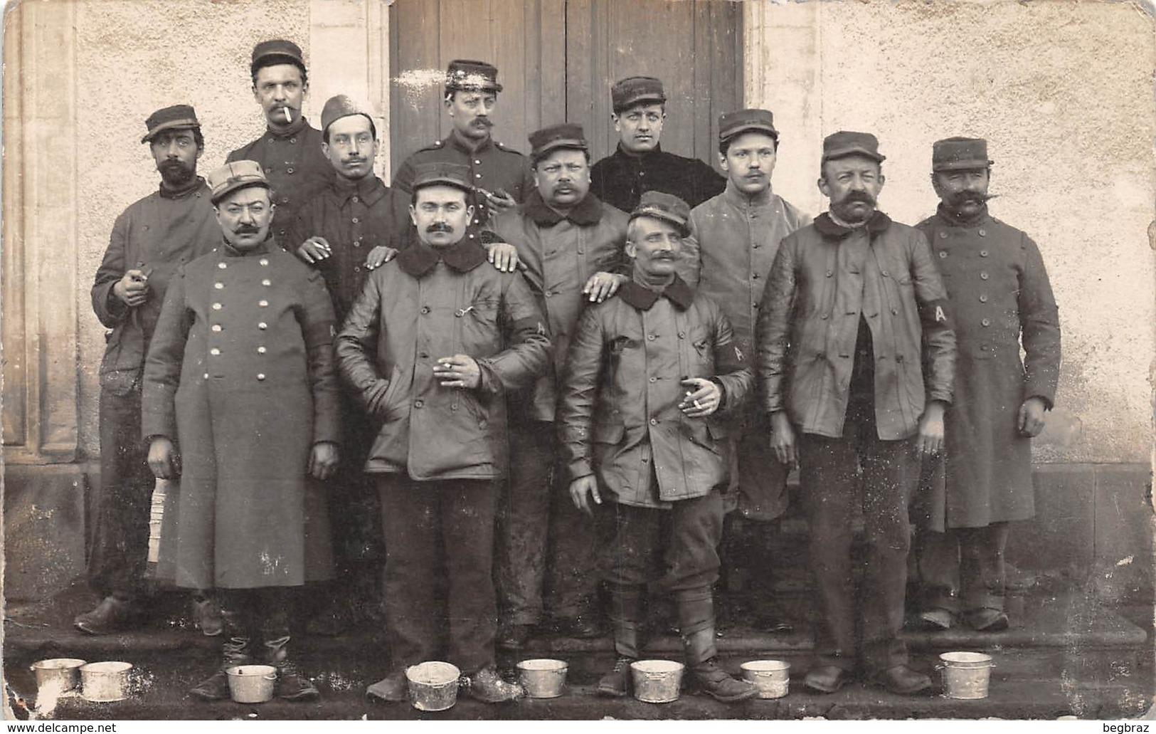 CARTE PHOTO    MILITAIRE  CHAUFFEUR WW1 - Guerre 1914-18