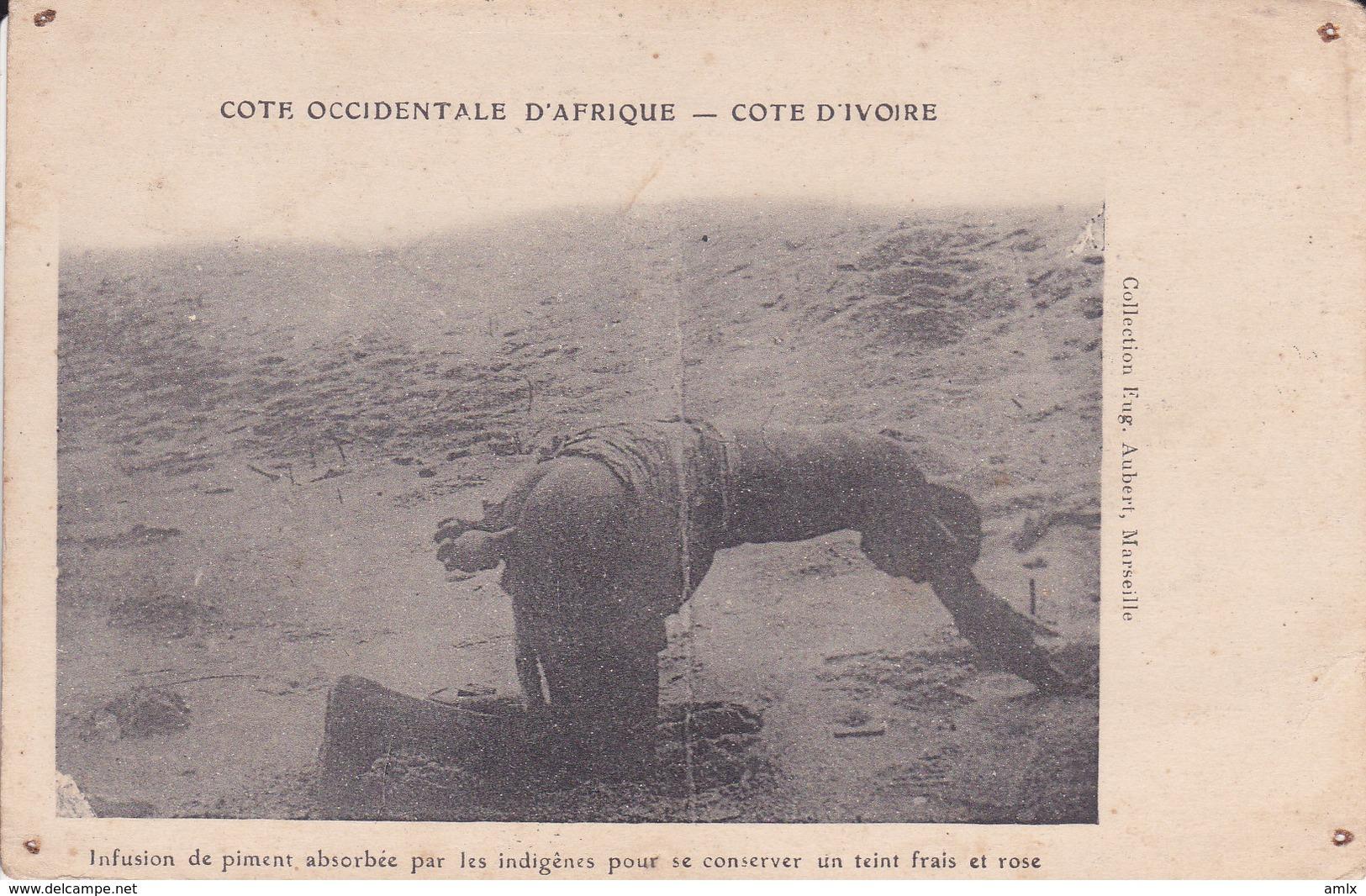 Infusion De Piment Non écrite Trous épingle - Costa D'Avorio