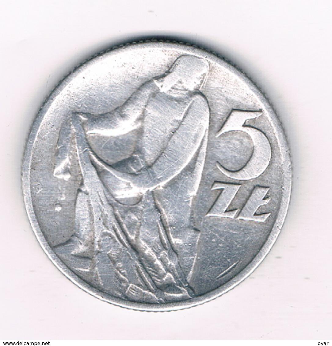 5 ZLOTYCH 1959 POLEN /3183/ - Poland