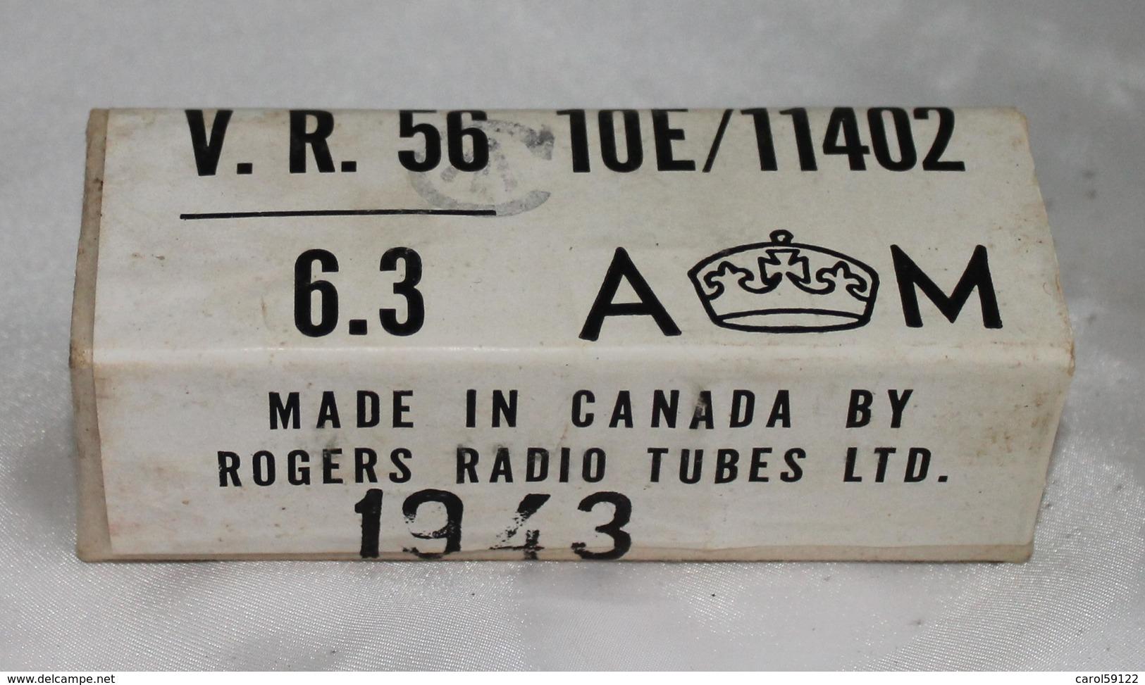 Boite De Lampe Radio Canadienne 1943 - Radio
