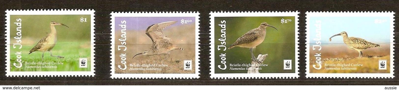 Cook Islands  2017 Micheln° 2143-2146 *** MNH Faune WWF Oiseaux Vogels Birds - Islas Cook