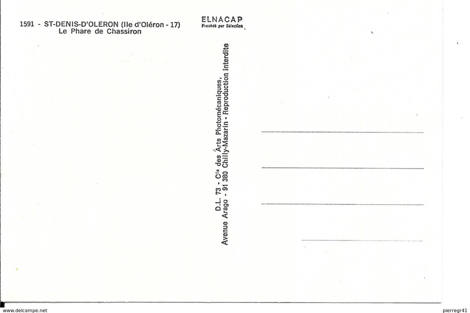 CPA-1960-17-ILE D OLERON-St DENIS D OLERON-PHARE De CHASSIRON--Edit C.P.A-TBE - Ile D'Oléron