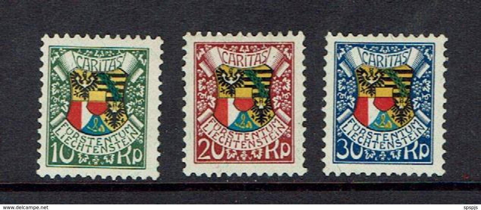 LIECHTENSTEIN...1927...MNH - Unused Stamps