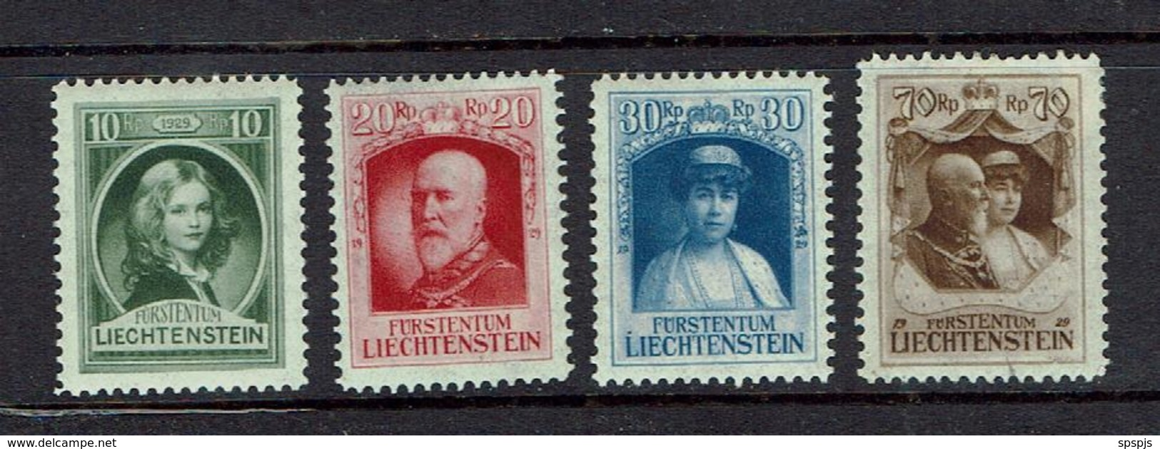 LIECHTENSTEIN...1929...mh - Unused Stamps