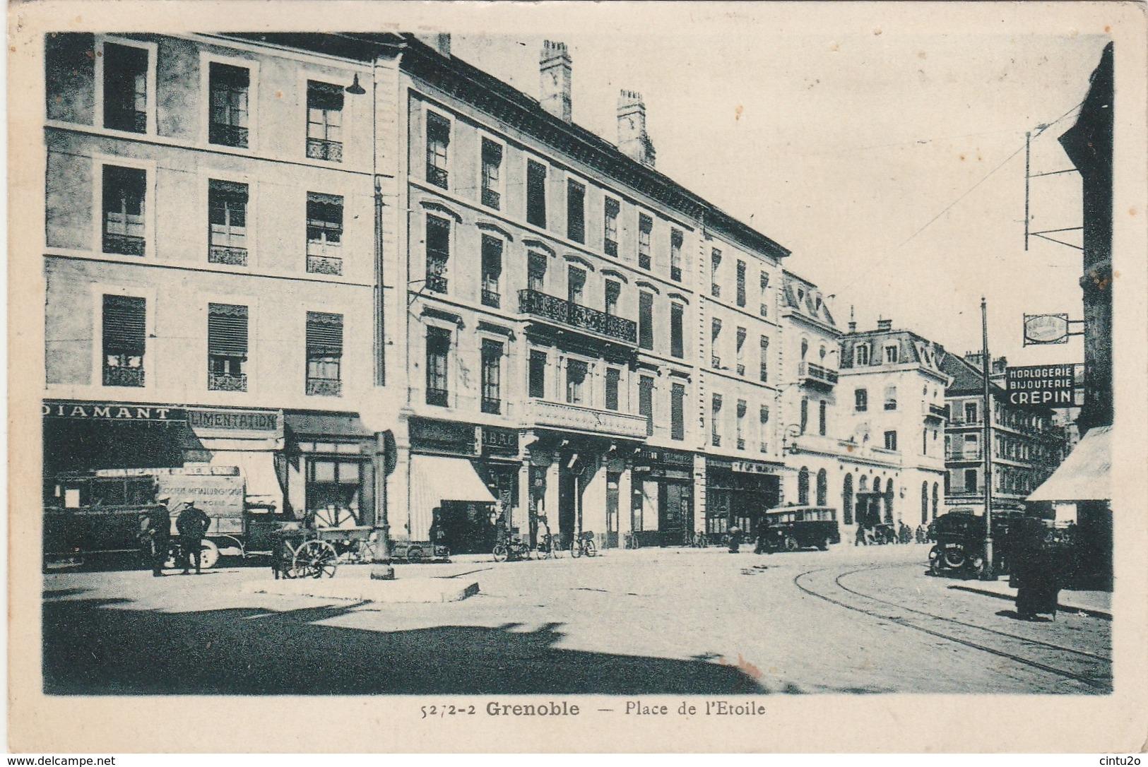 Isère . Grenoble . Place De L' Etoile . - Grenoble