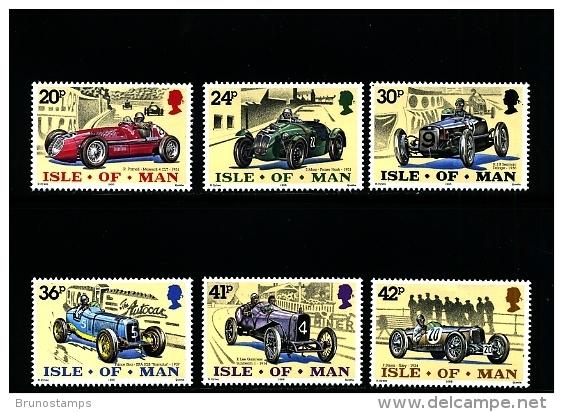 ISLE OF MAN - 1995  ANNIVERSARY OF MOTOR RACING  SET  MINT NH - Isola Di Man