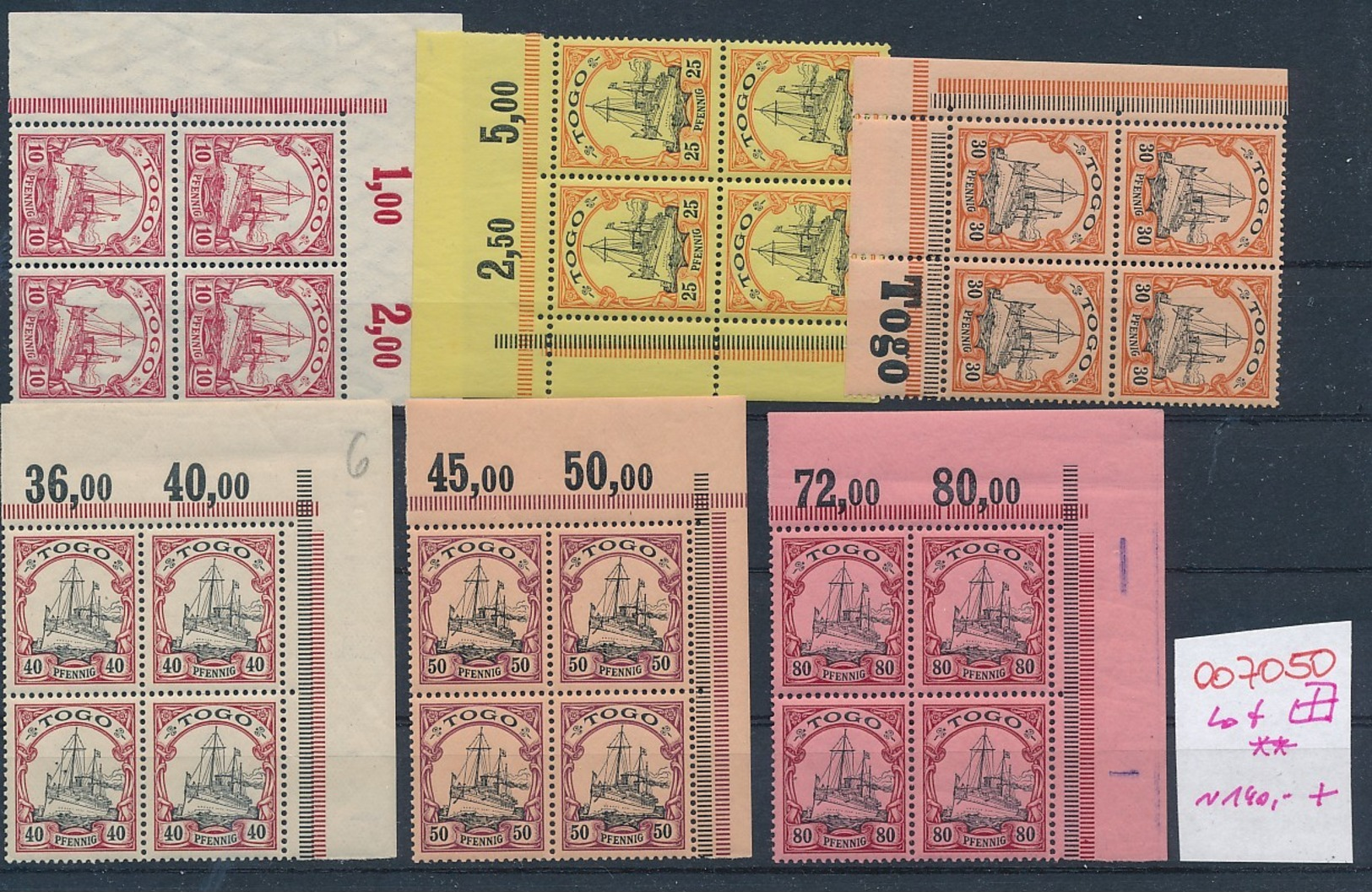 D.-Kolonien Lot....   (oo7050  ) Siehe Scan - Kolonie: Togo