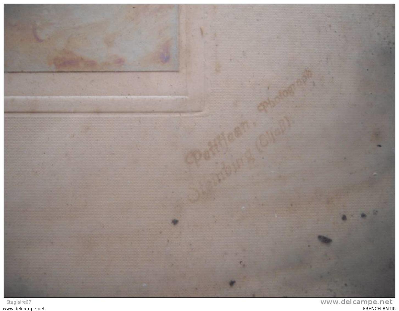 Schwindratzheim Rare Photo Conscrits Fanfare Cloche De L Eglise 32X26CM - Lieux