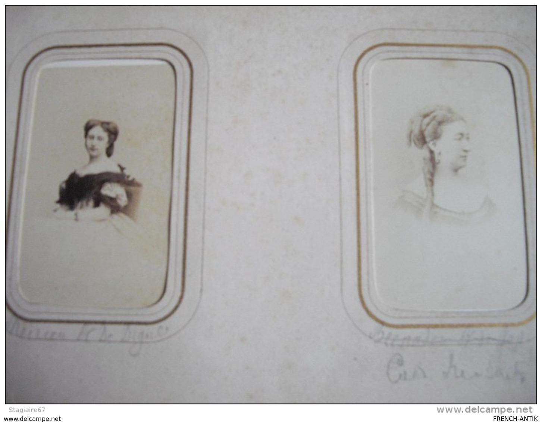 ALBUM DE 28 PHOTOS  PORTRAIT DE FEMME - Albums & Collections