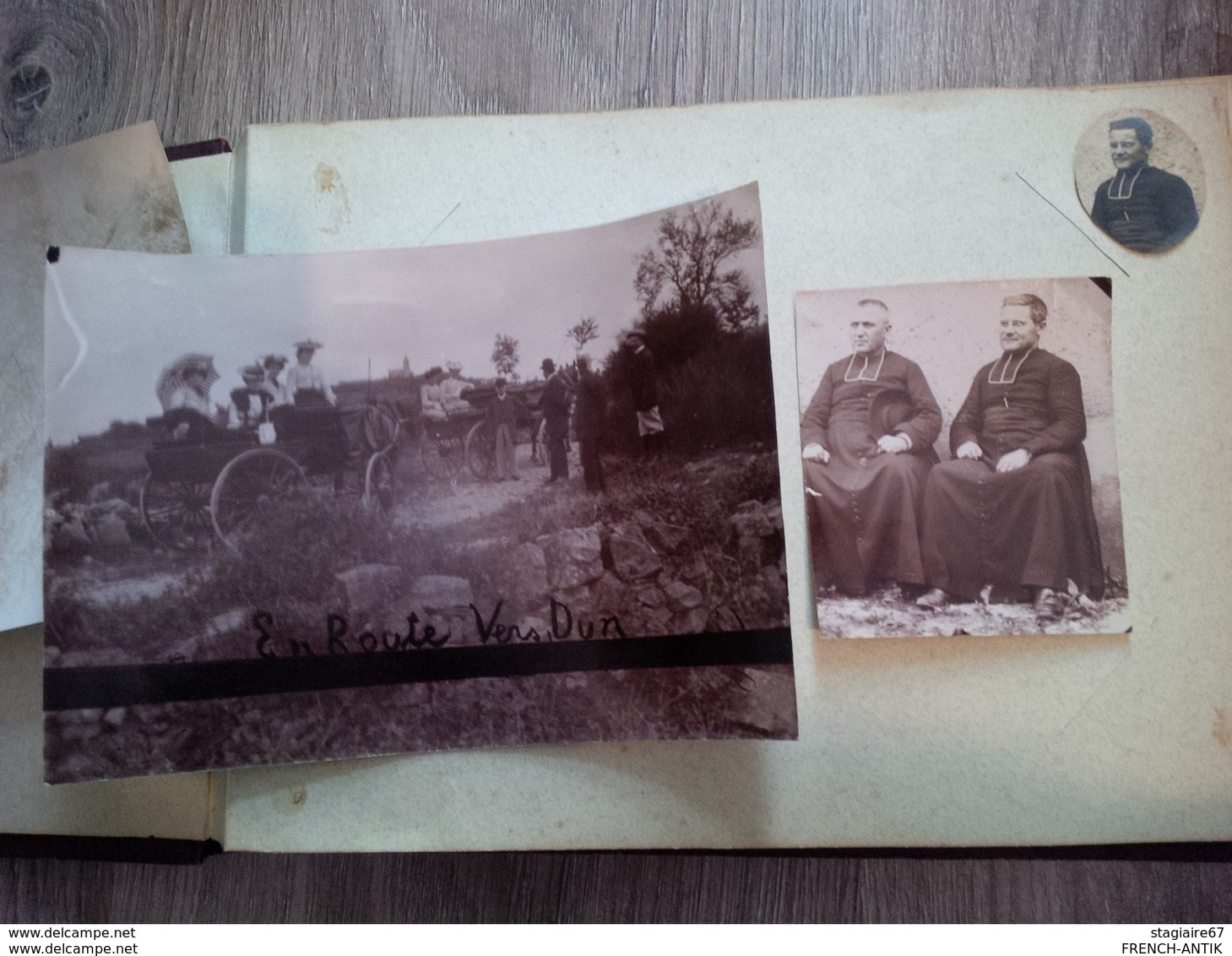 ALBUM DE FAMILLE SAONE ET LOIRE PROVIENT DE LA MAISON ST MICHEL A RULLY RELIGIEUX CHATEAU SCENE DE VIE MOISSON SCIERIE - Albums & Collections