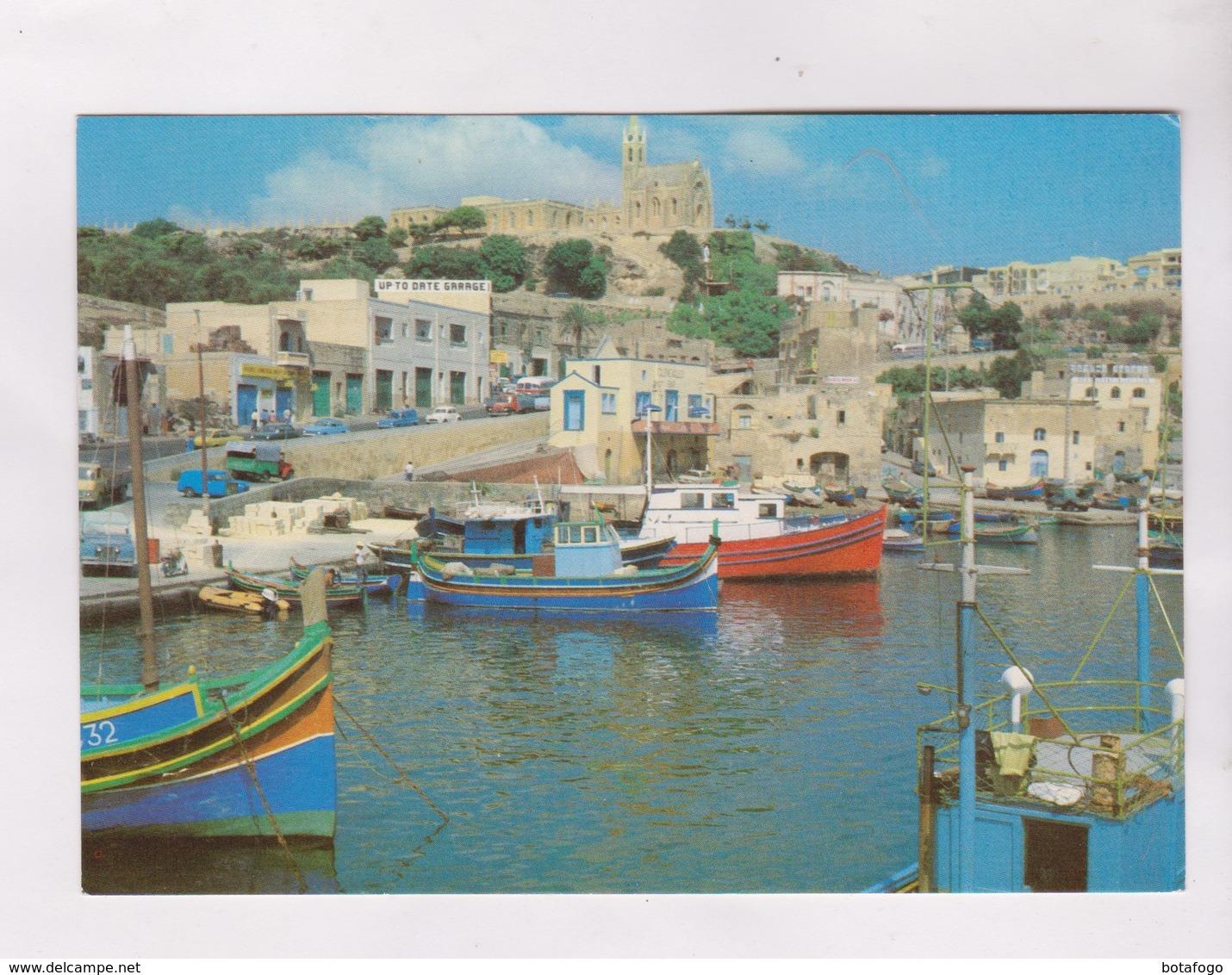 CPM MALTE, IL PORTO DI MGARR - Malte