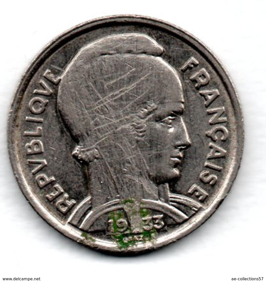Bazor  -  5 Francs 1933   -  état  TB - France