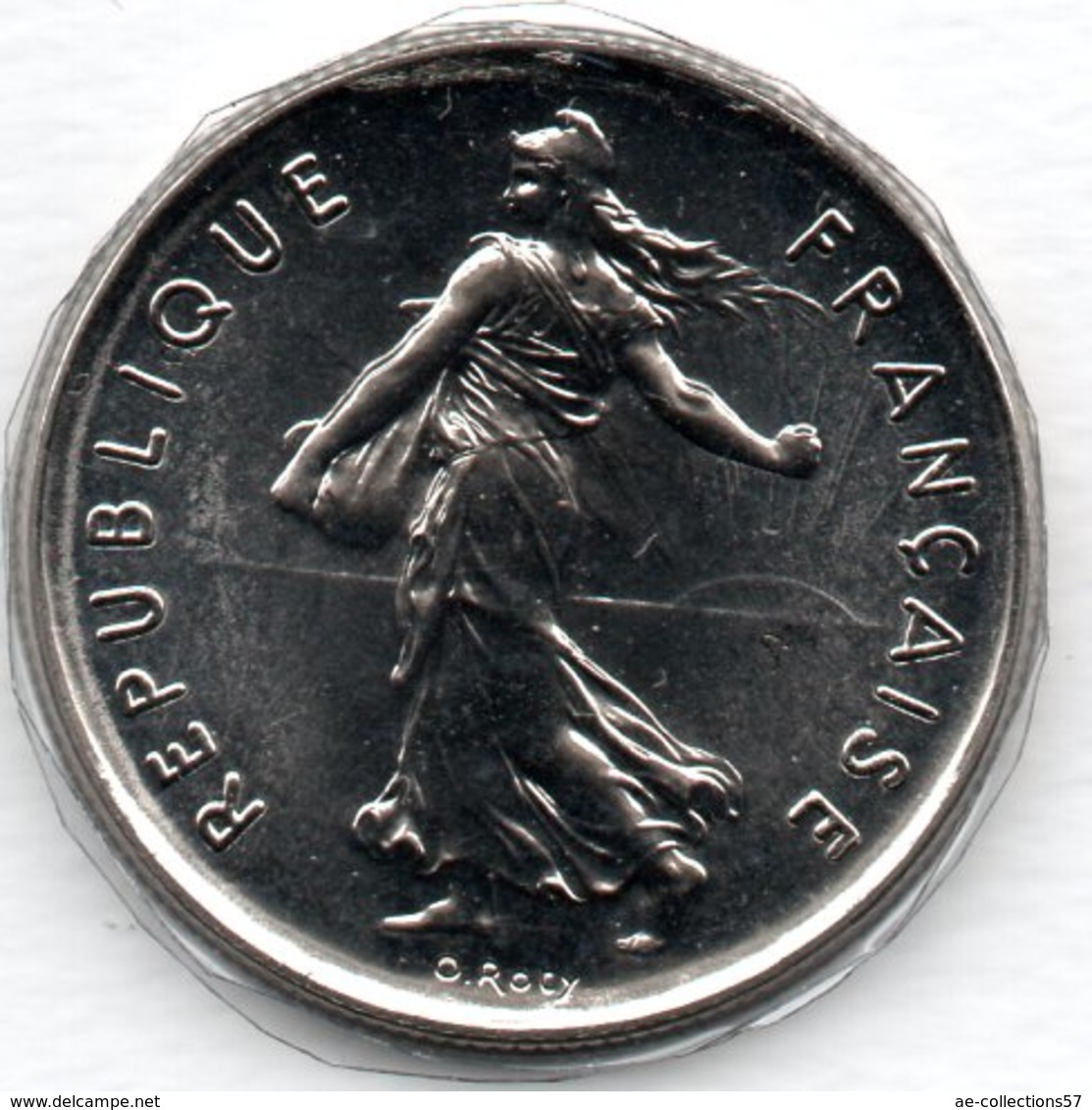 -  5 Francs 1991 BU Frappe Médaille   -  état  FDC - France