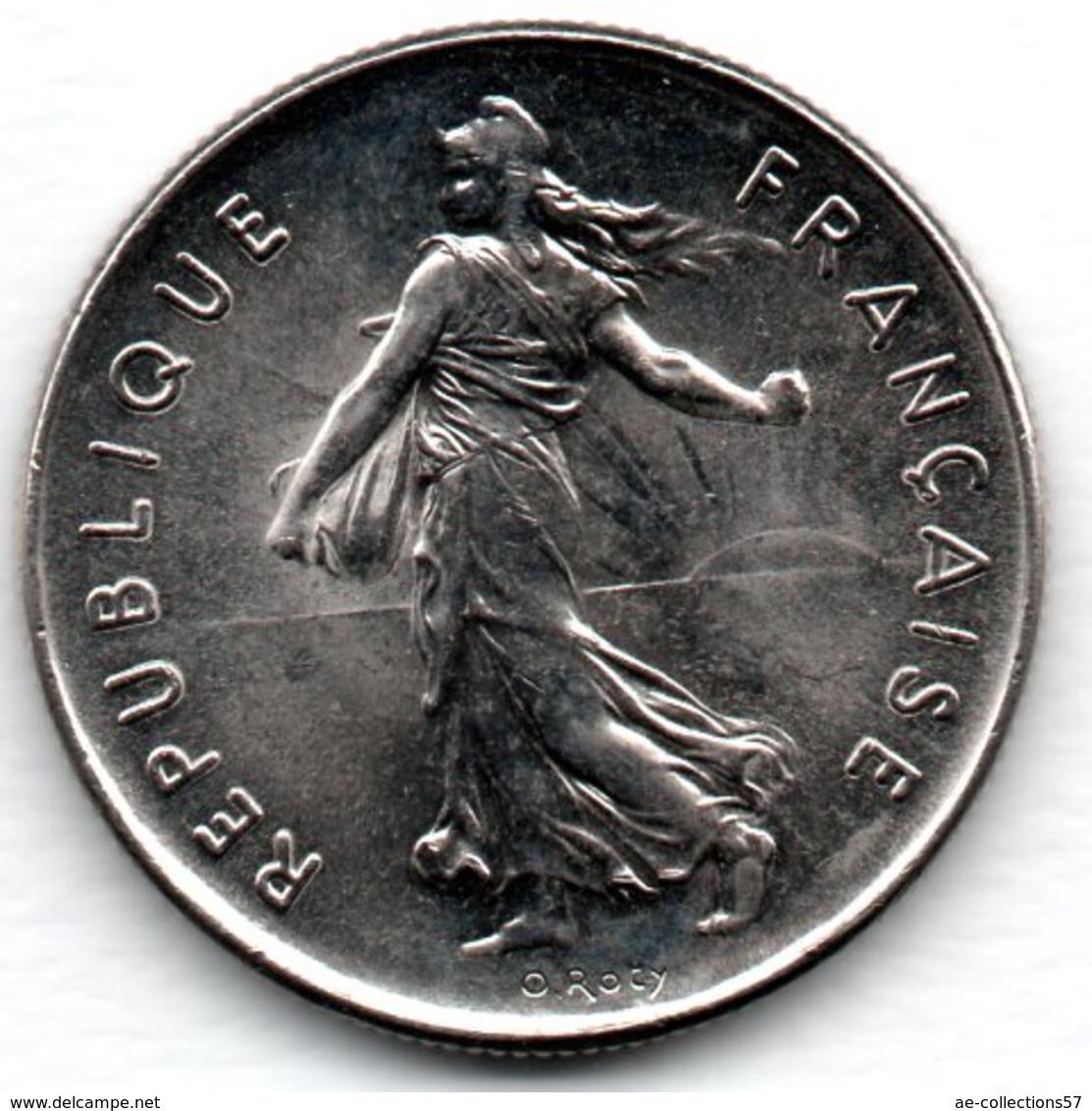 -  5 Francs 1988   -  état  SPL - France