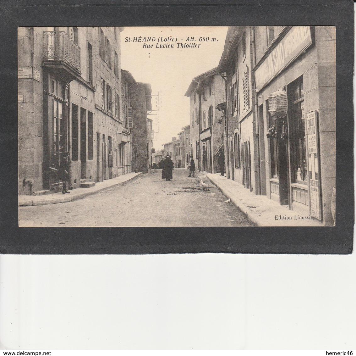 42  St HEAND -  Rue Lucien Thiollier - Otros Municipios
