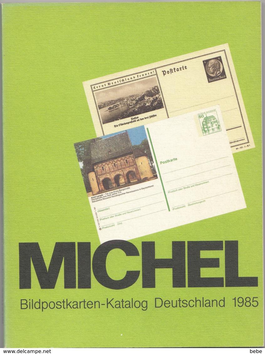 MICHEL  BILDPOSTKARTEN-KATALOG DEUTSCHLAND 1985 - Germany