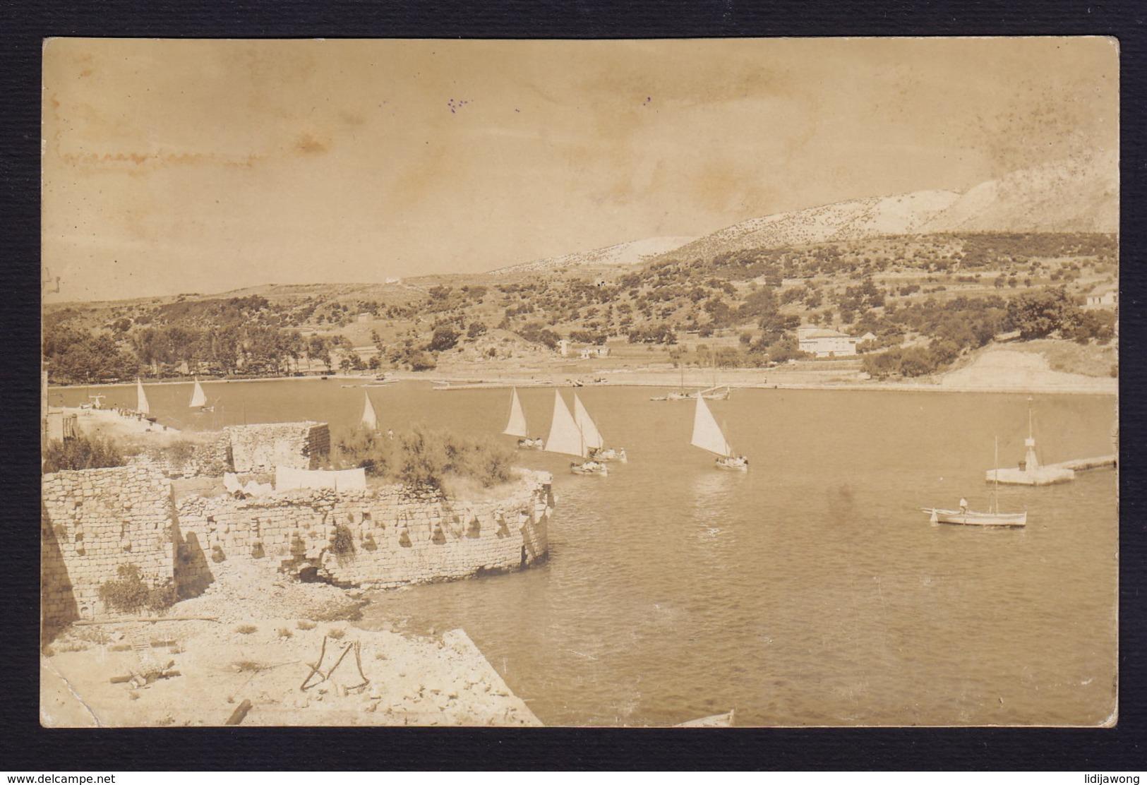 CROATIA - RAB - OLD POSTCARD 1929 - Photo VERDERBER (see Sales Conditions) - Croatia
