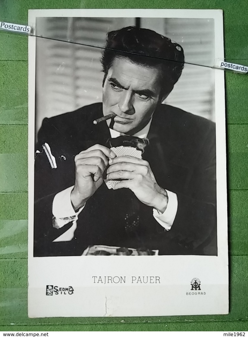 Kov 17-3 - Tyrone Power , PRINTED IN YUGOSLAVIA, PLAYING CARDS, Cartes à Jouer - Célébrités