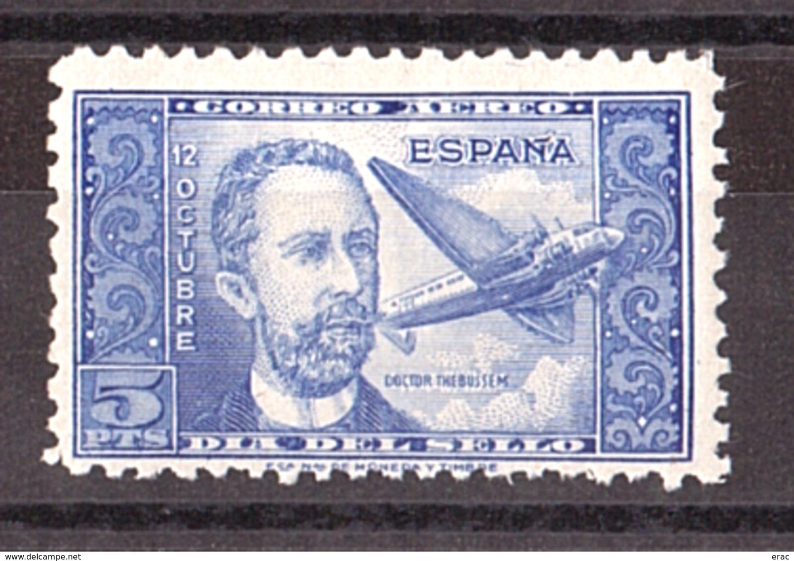 Espagne - 1944 - PA N° 227 - Neuf * - Doctor Thebussem - Poste Aérienne