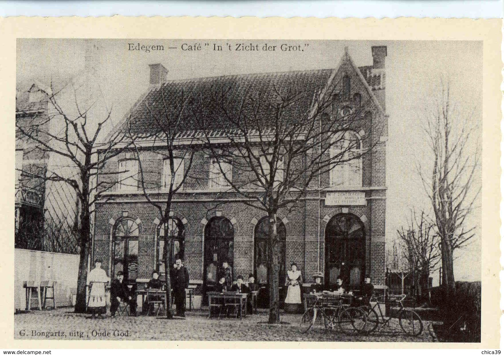 "C 280  -  Edegem  -  Café ""In't Zicht Der Grot""  -  Gazet Van Antwerpen - Edegem"