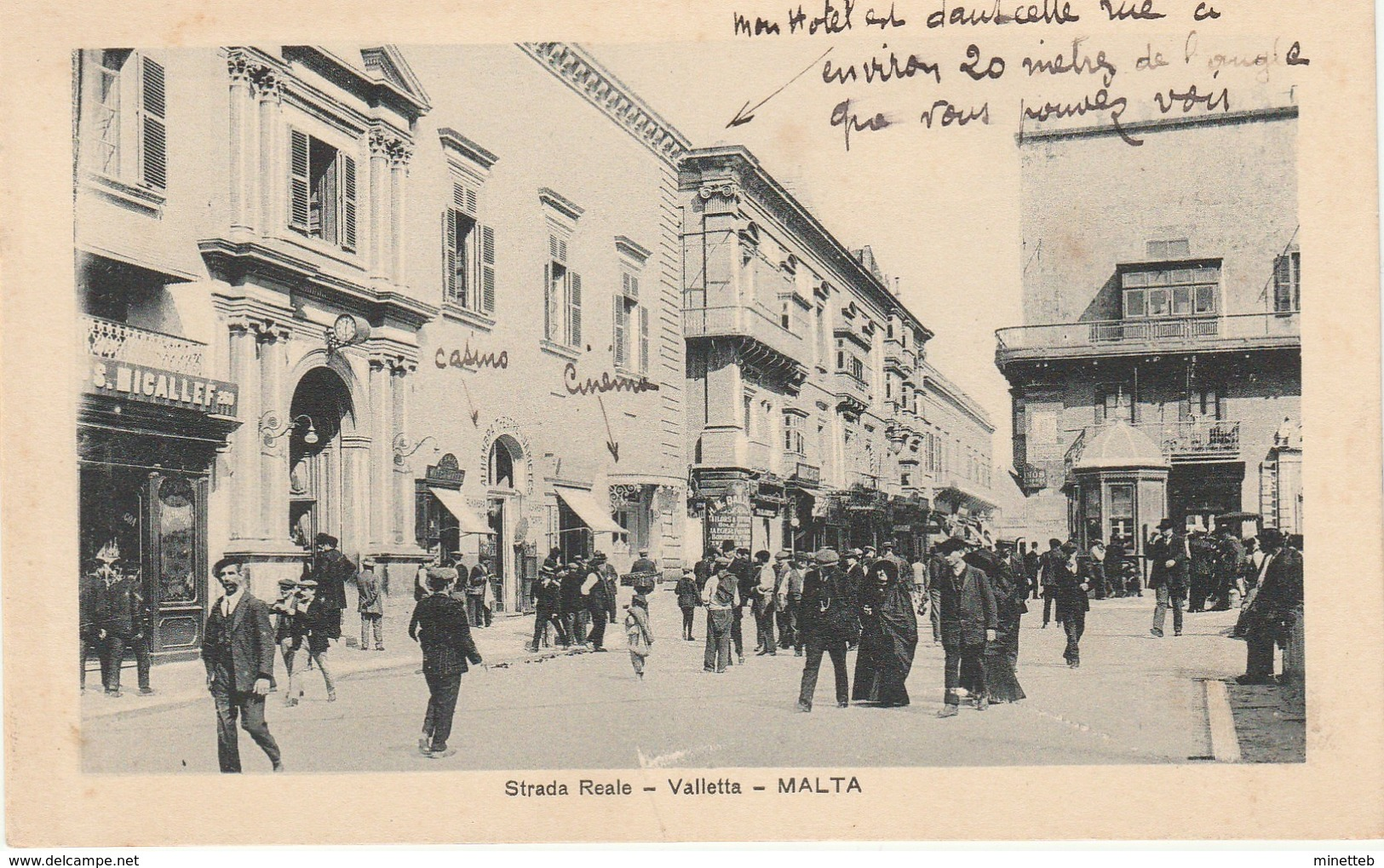 Malte Strada Reale  Valletta - Malte