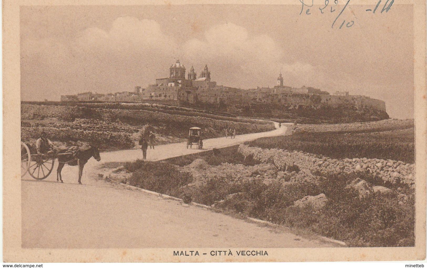 Malte Citta Vecchia - Malte