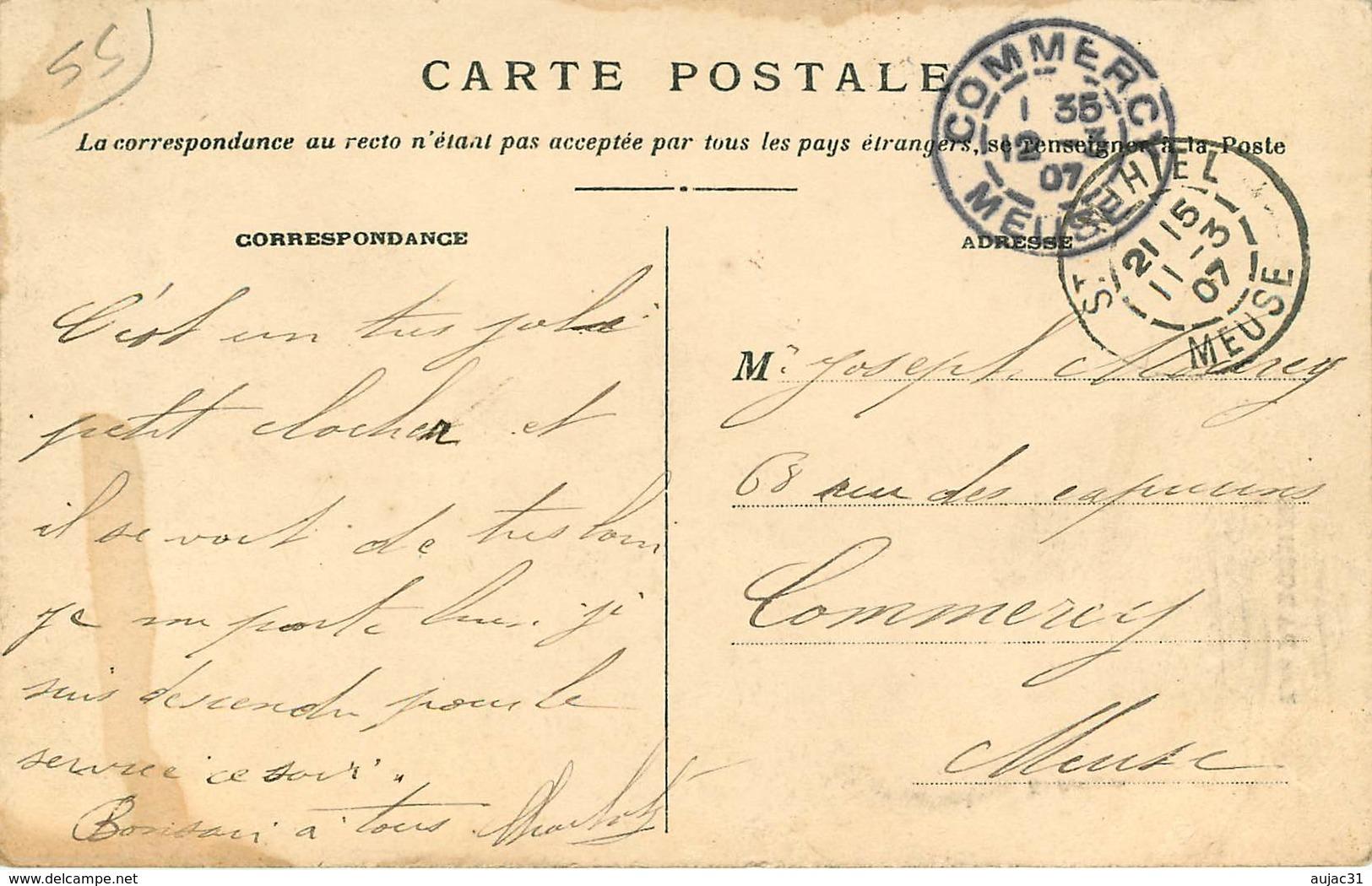 Dép 55 - Les Paroches - L'église - 2 Scans - état - Other Municipalities