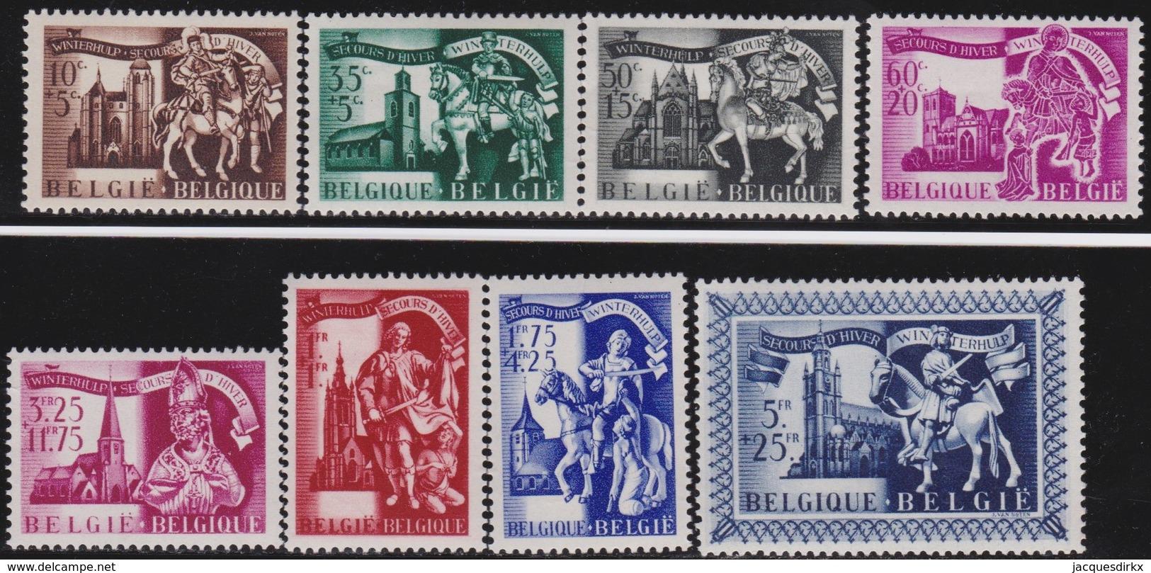 Belgie    .    OBP   .     631/638       .     **   .      Postfris      .  / .   Neuf SANS Charniere - Neufs