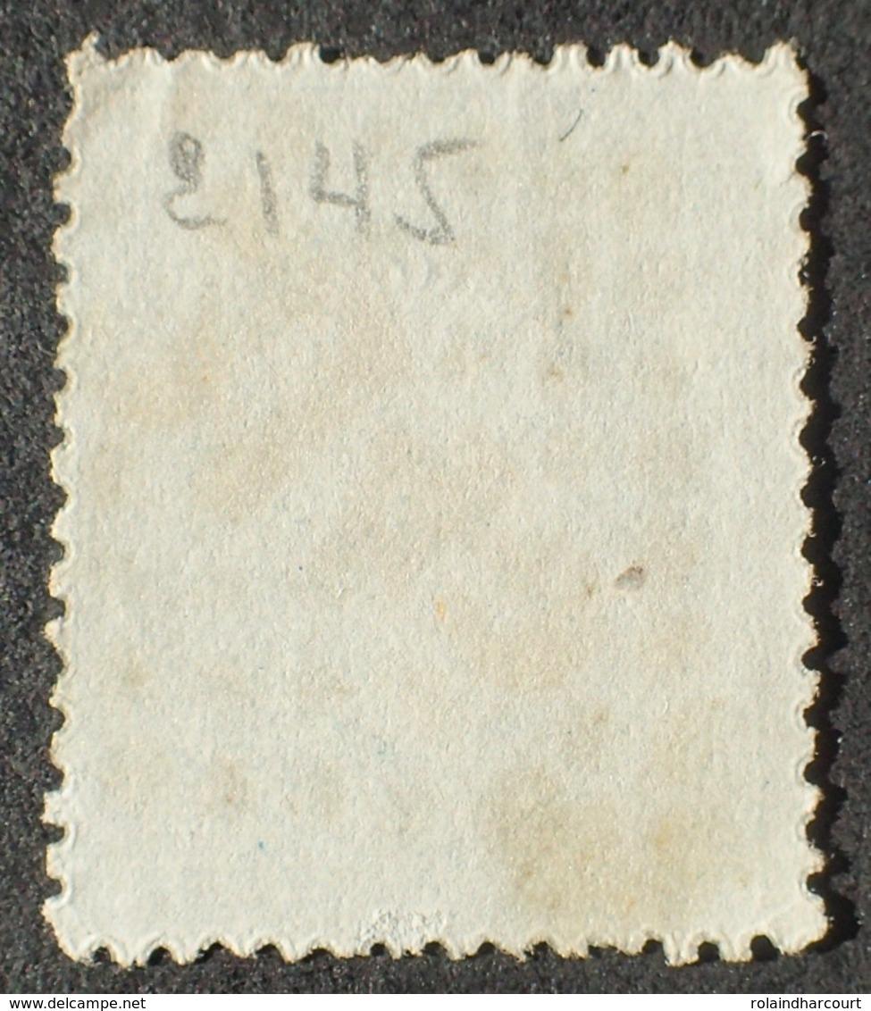 R1917/127 - NAPOLEON III N°22 - GC 2145 : LYON - VARIETE 9a ➤➤➤ Taches Blanches Sur La Chevelure - 1862 Napoleon III