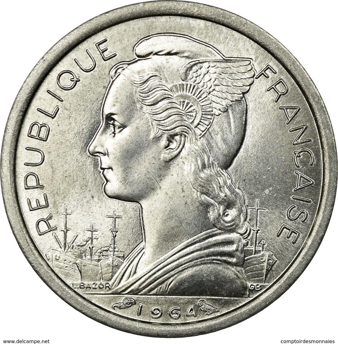 Monnaie, Comoros, Franc, 1964, Paris, SUP, Aluminium, KM:4 - Comoros