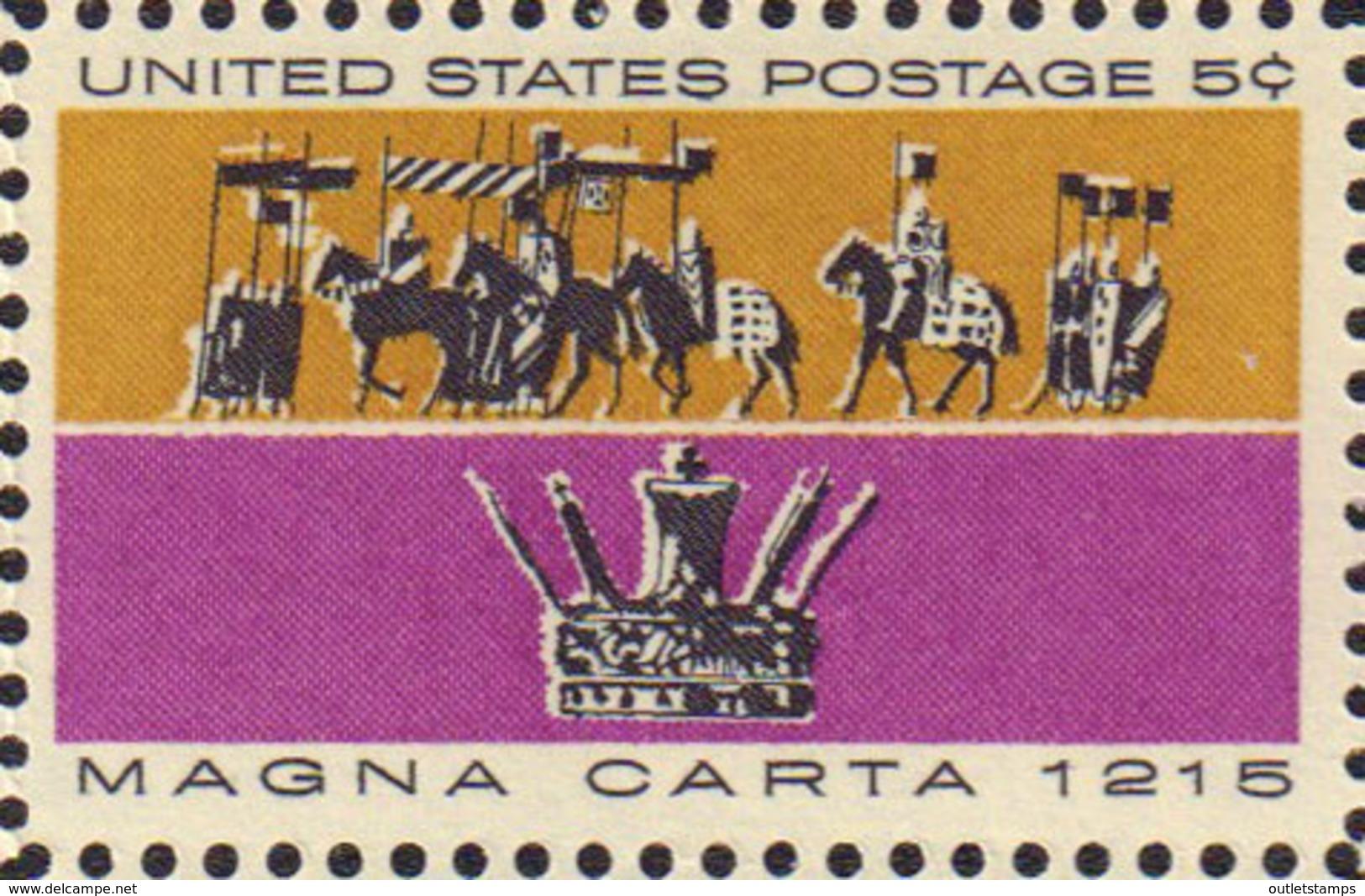 Ref. 161817 * NEW *  - UNITED STATES . 1965. 750 ANIVERSARIO DE LA CARTA MAGNA - Stati Uniti