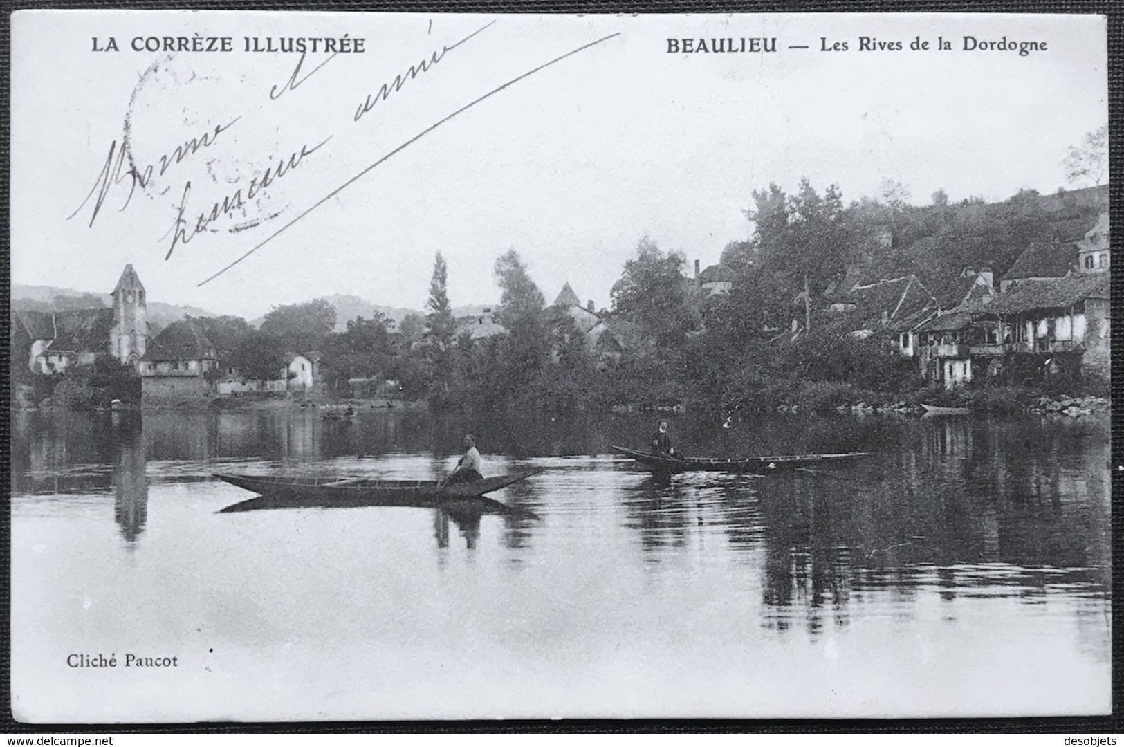LA CORRÈZE ILLUSTRÉE    BEAULIEU - Les Rives De La Dordogne - France