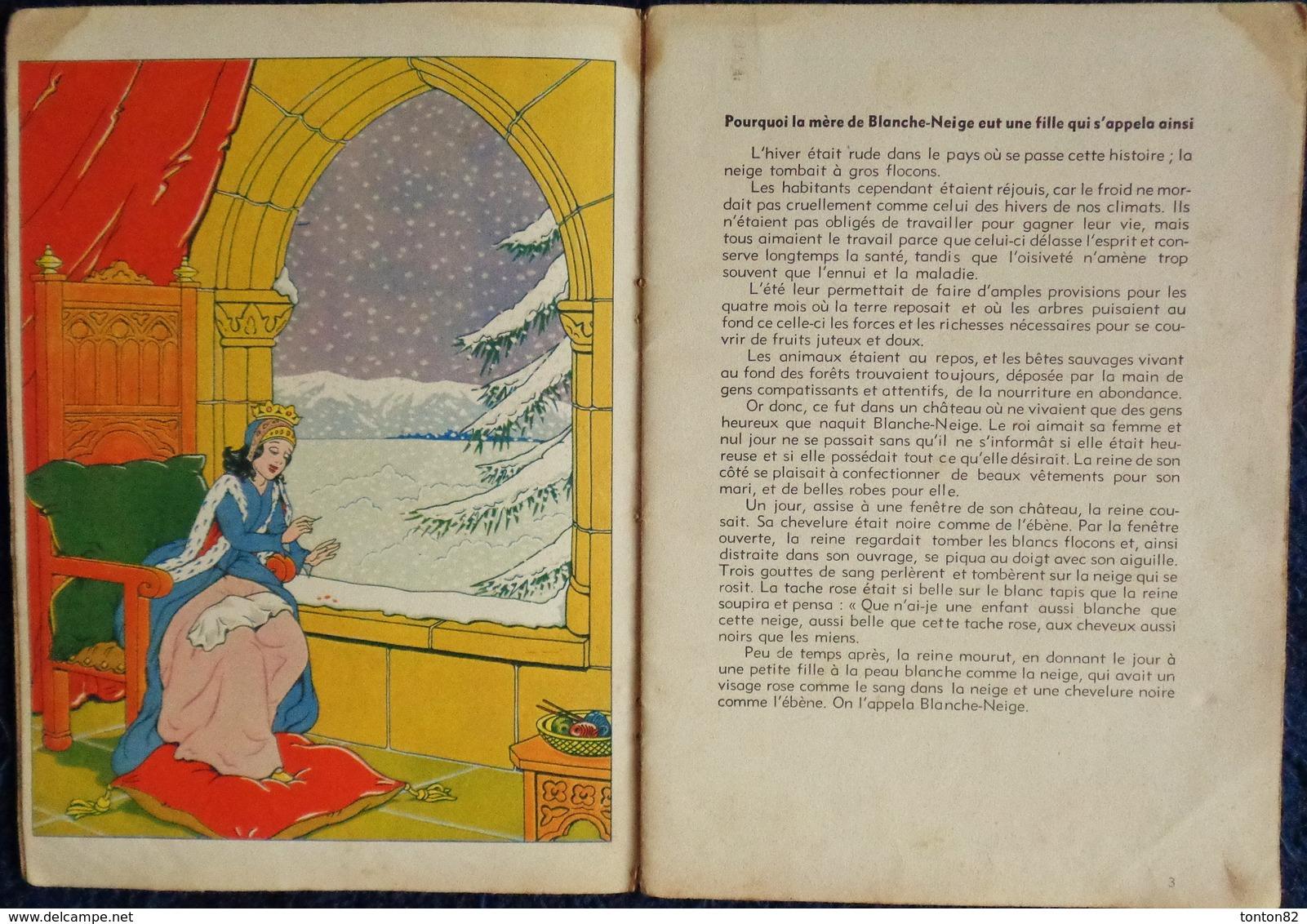 Contes De Grimm - Blanche Neige - Éditions René Touret - ( 1954 ) . - Bücher, Zeitschriften, Comics