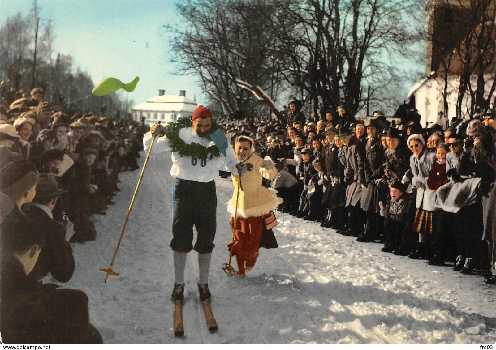 Dalarna Dalécarlie Mora Vasaloppet Ski - Suède