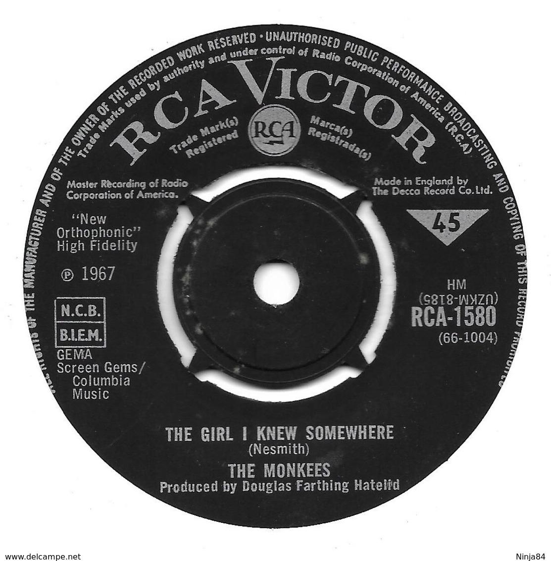 """The Monkees    """"  A Little Bit Me, A Little Bit You  """" - Vinyl Records"""