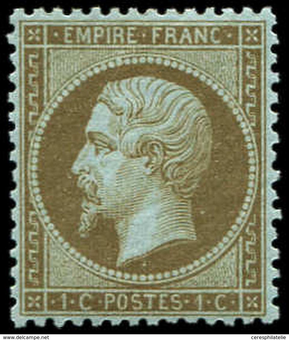 ** EMPIRE DENTELE - 19b   1c. Mordoré, Bon Centrage, TTB - 1862 Napoleon III