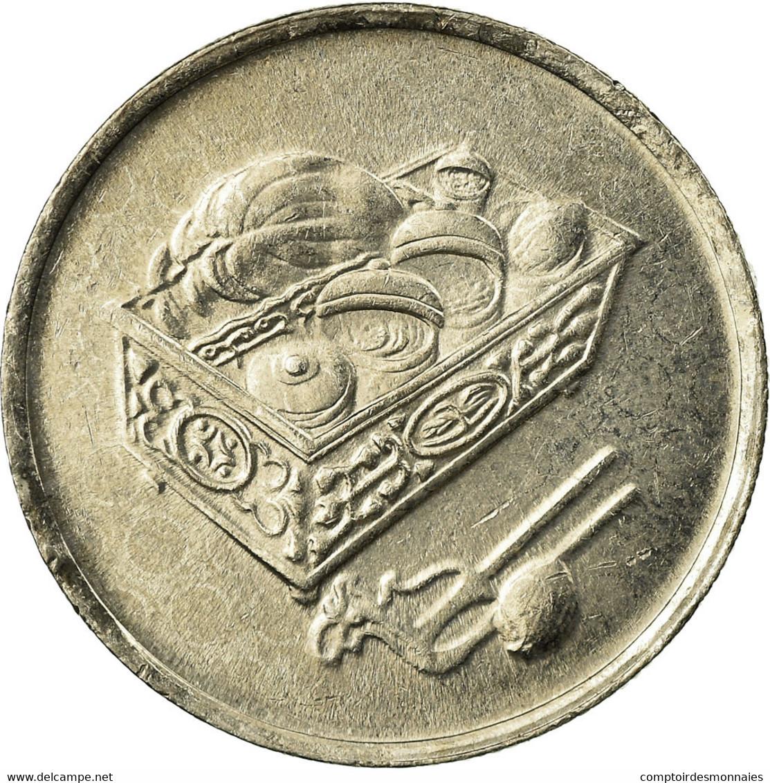Monnaie, Malaysie, 20 Sen, 2006, TTB, Copper-nickel, KM:52 - Malaysie