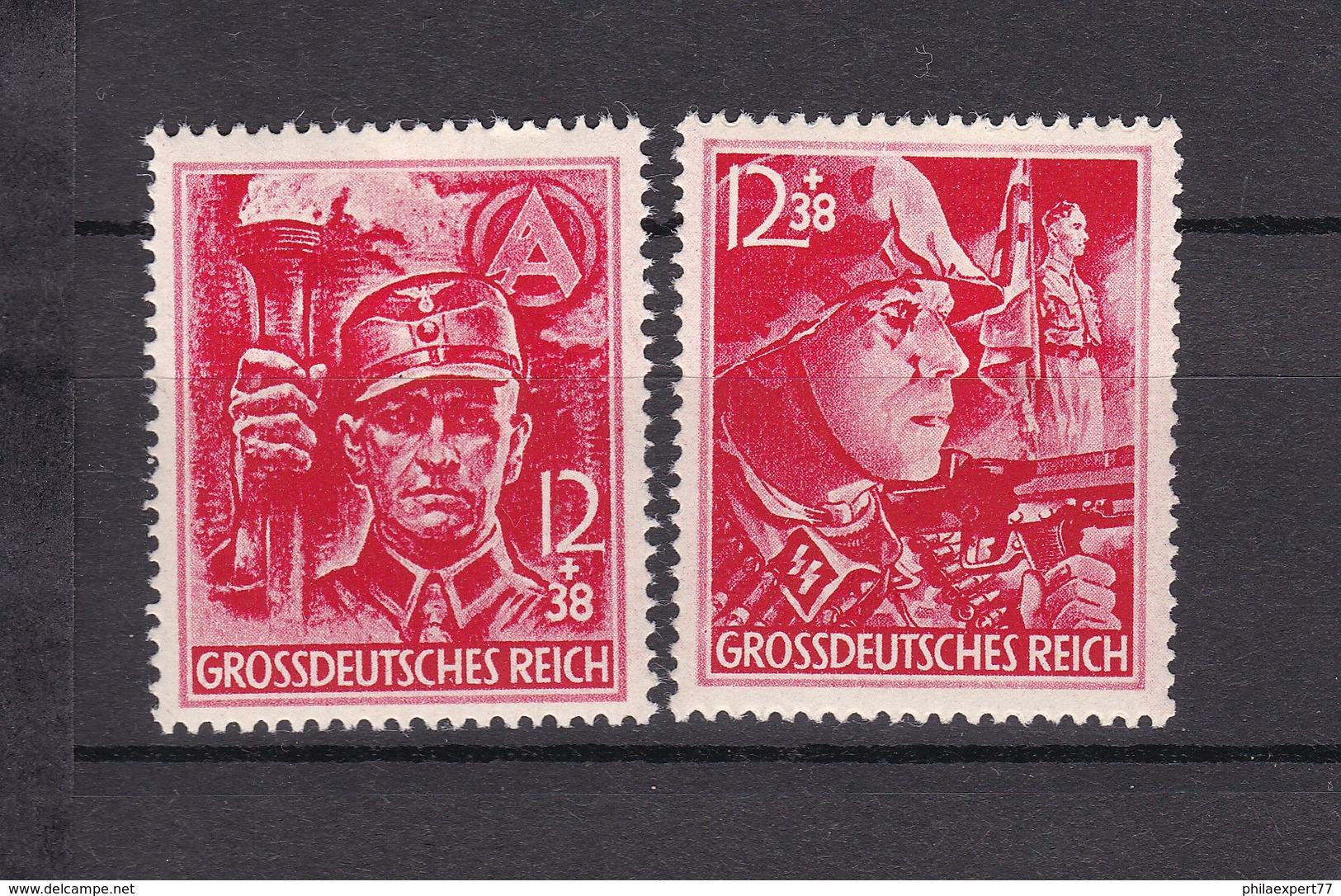 Deutsches Reich - 1945 - Michel Nr. 909/910 - Ungebr. - 20 Euro - Deutschland