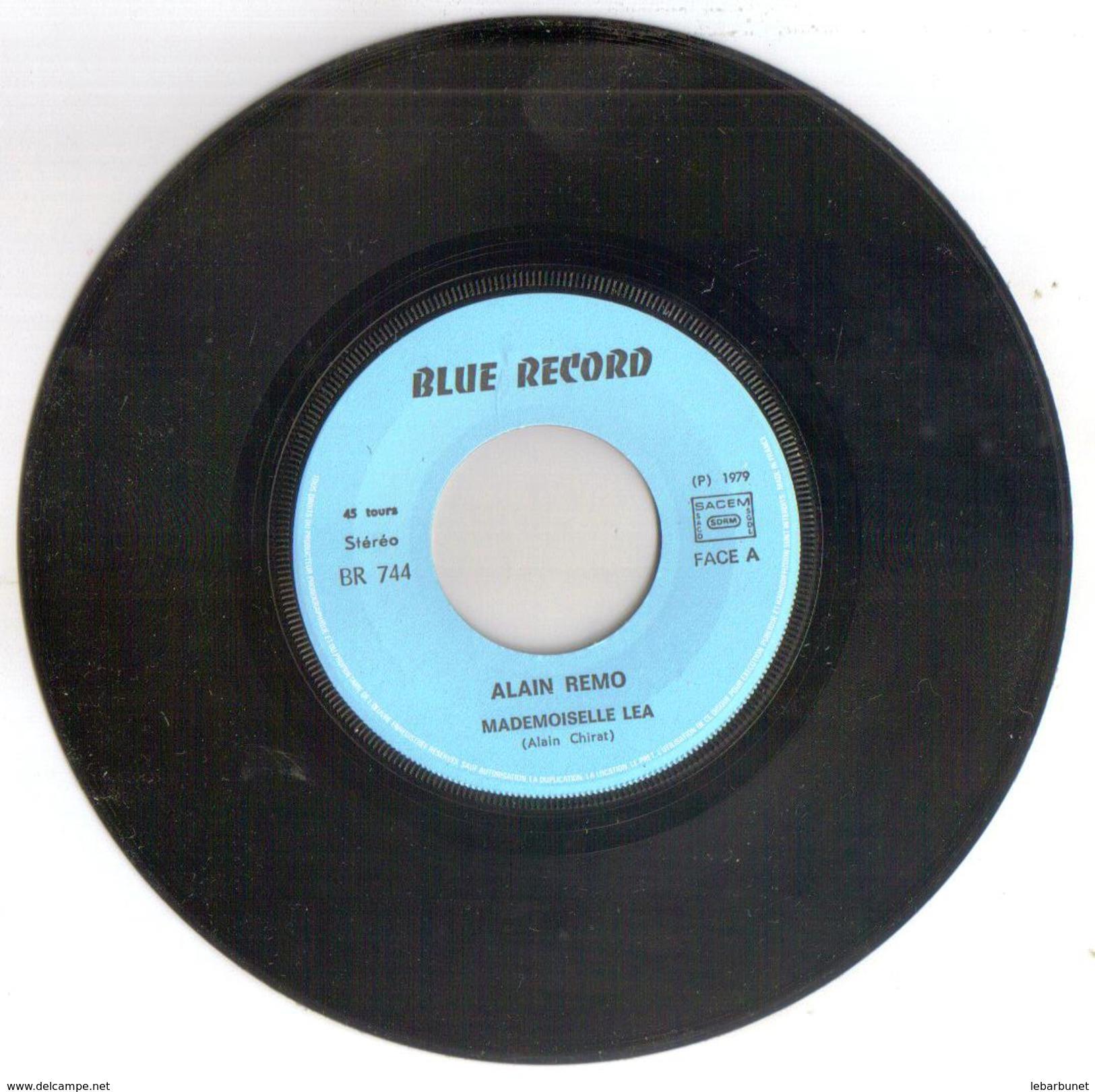 "Disque 45 Tours 2 Titres ""Alain Remo "" - 45 T - Maxi-Single"