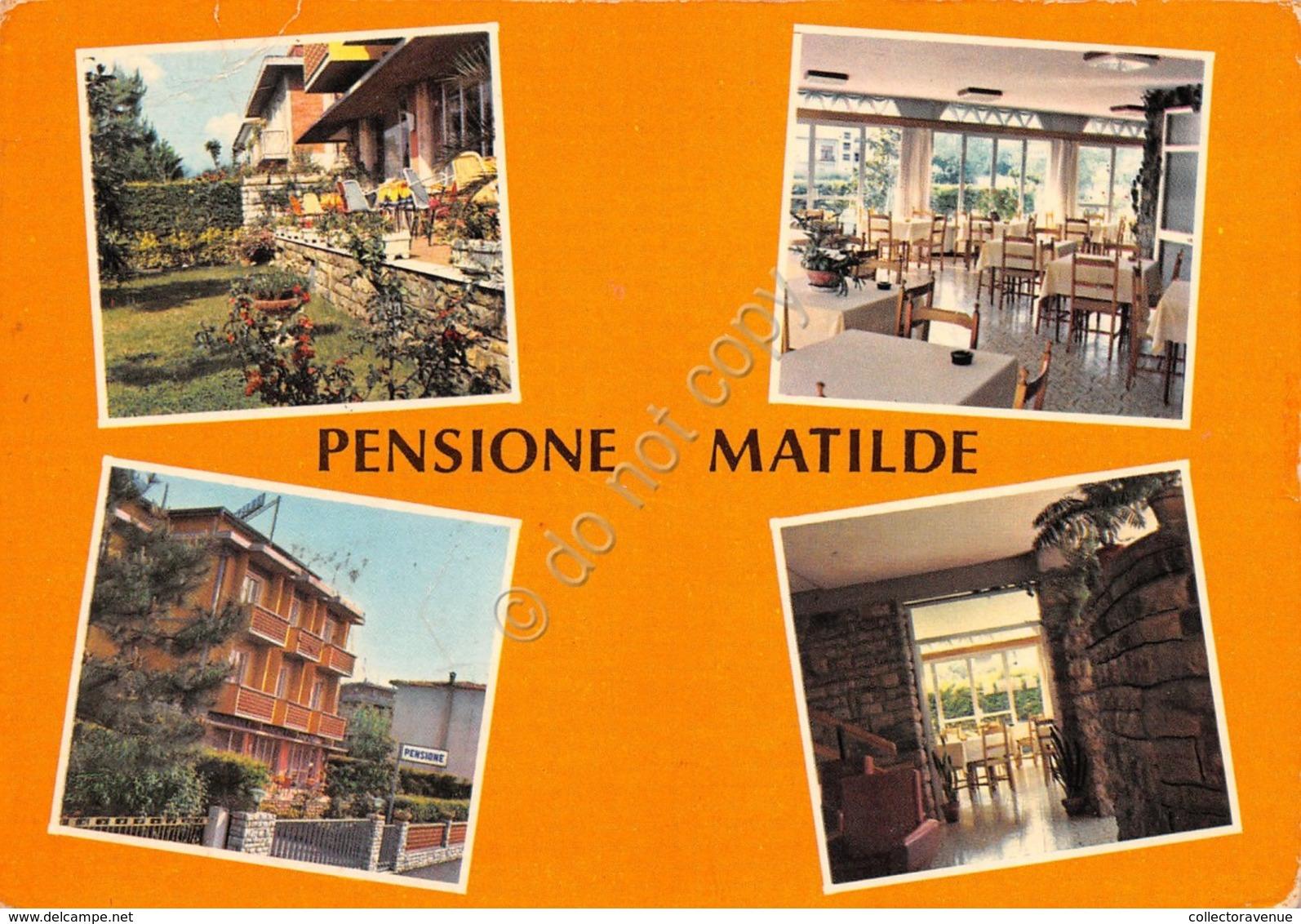 Cartolina Marina Di Massa Pensione Matilde Vedute - Massa