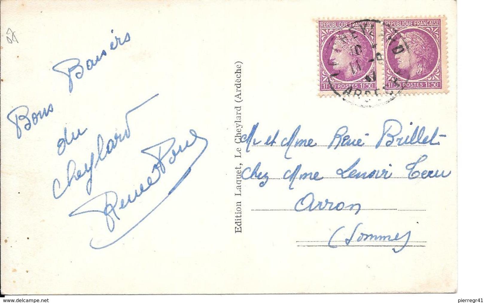 CPA-1940-07-LE CHEYLARD-CHATEAU De La MOTHE-TBE - Le Cheylard