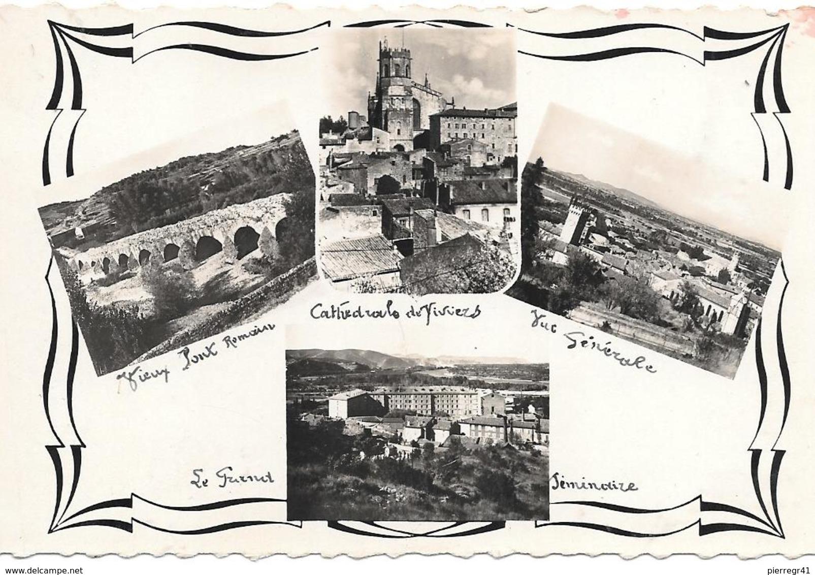CPA-1950-07-VIVIERS-MULTIVUES-TBE - Viviers