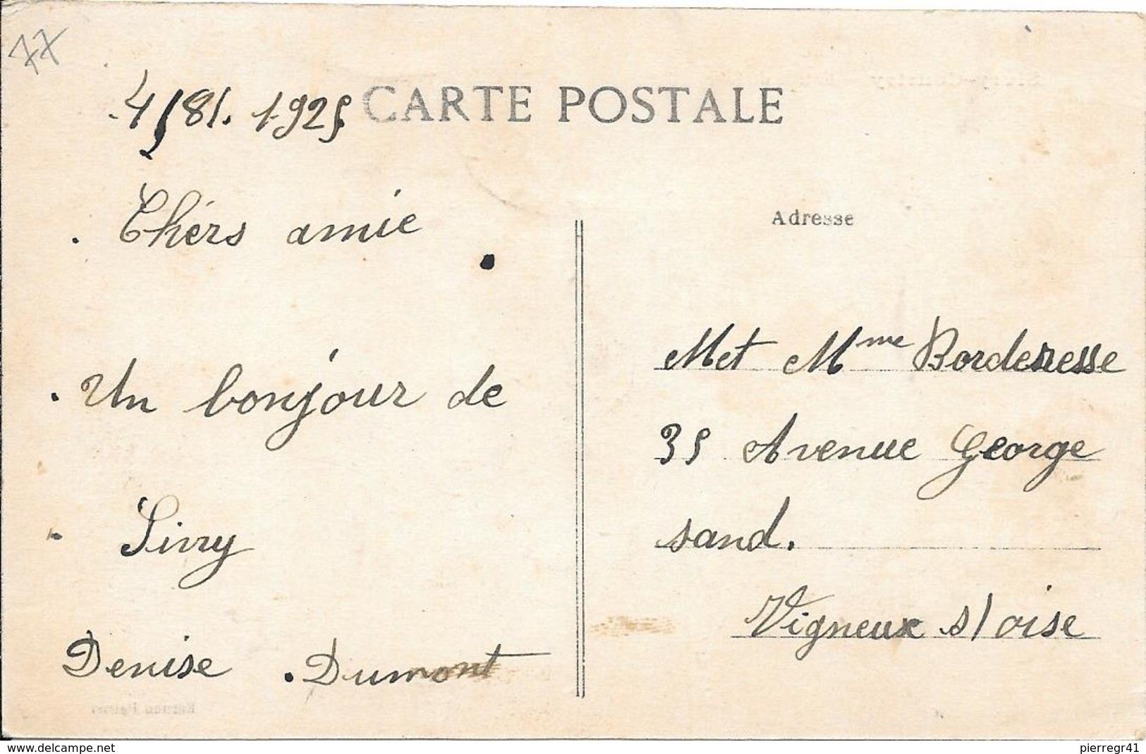CPA-1920-77-SIVRY-COURTRY-Entrée De SIVRY-TBE - Autres Communes
