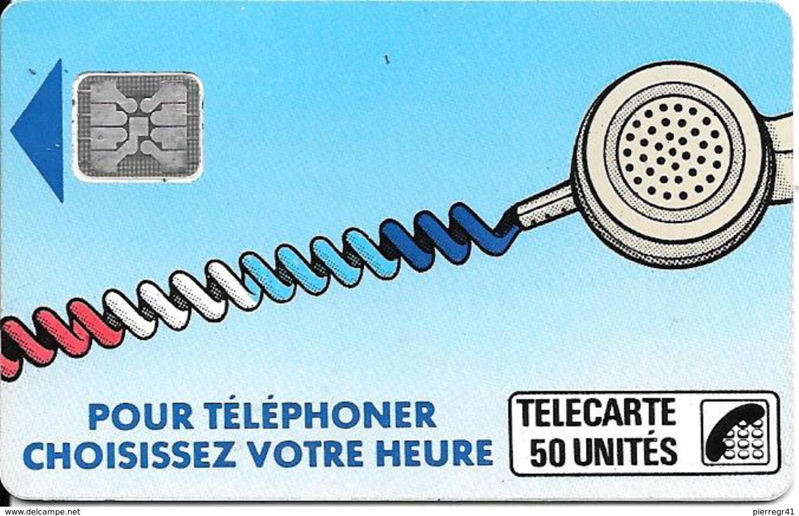 CARTE-PUBLIC-Ko31.610.-50U-SC4an-S/Entourage-R° GLACE-CORDON BLEU-6 Pe 109283-UTILISE-TBE - France