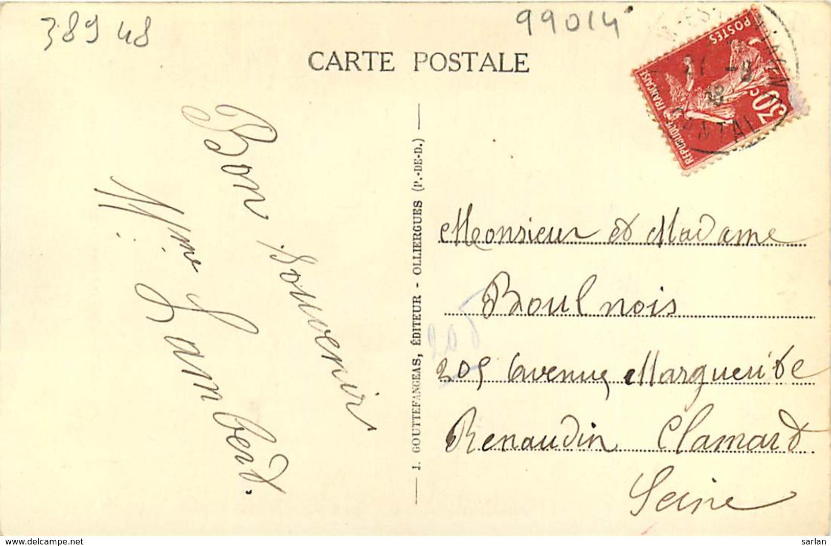 63 , Scene Villageoise , Remouleur , * CF 389 48 - Frankreich