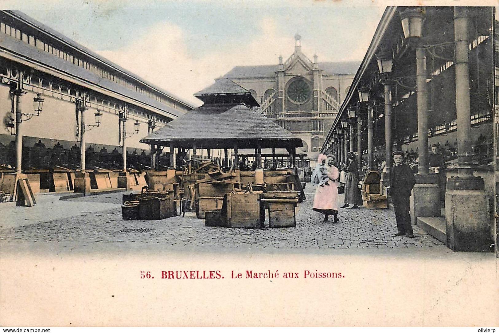 Bruxelles - Le Marché Aux Poissons - Couleurs - Markets
