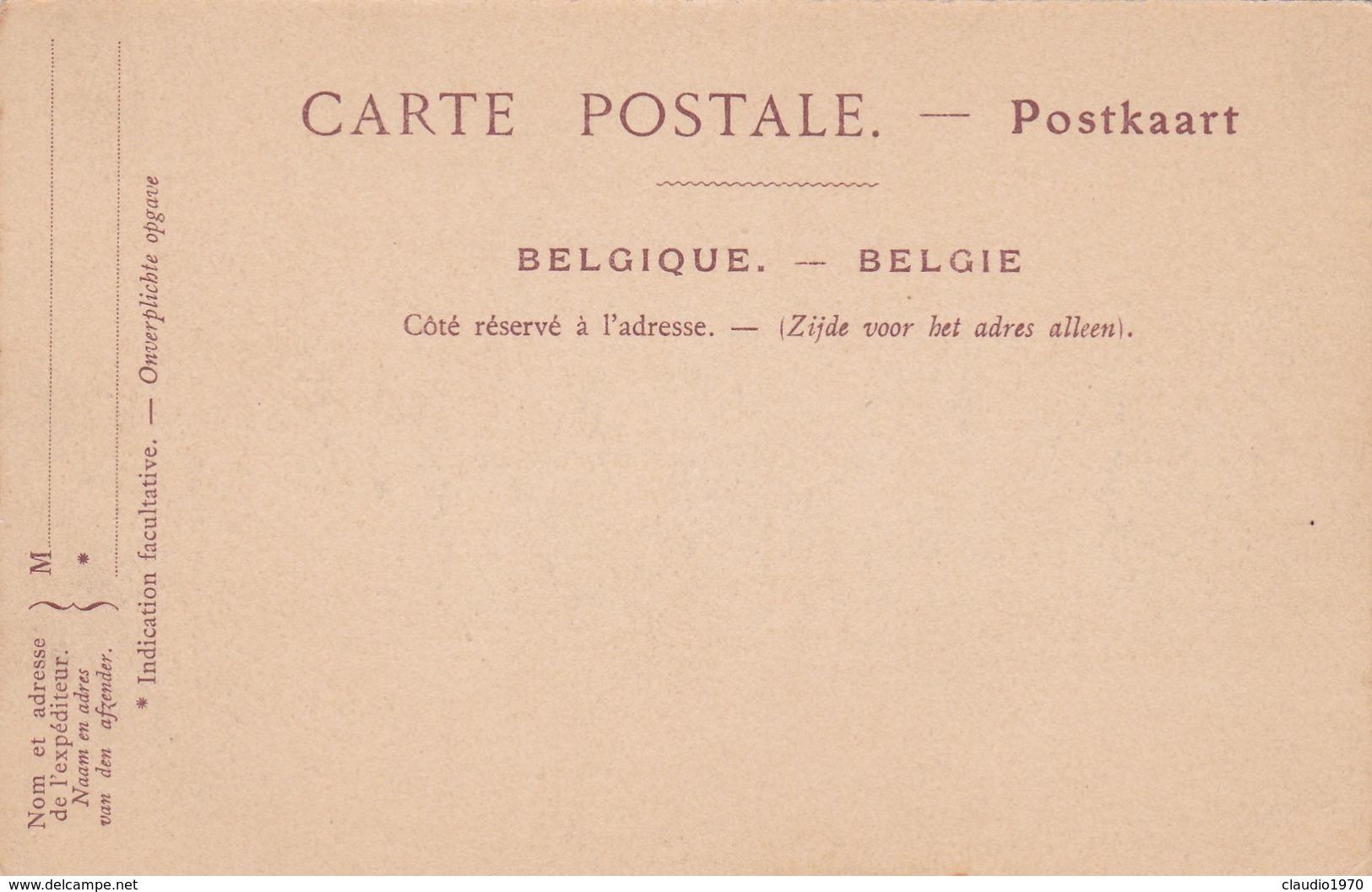 CARTOLINA - POSTCARD - BELGIO -  BRUXELLES - LA MAISON DES TAILLEURS - Monuments
