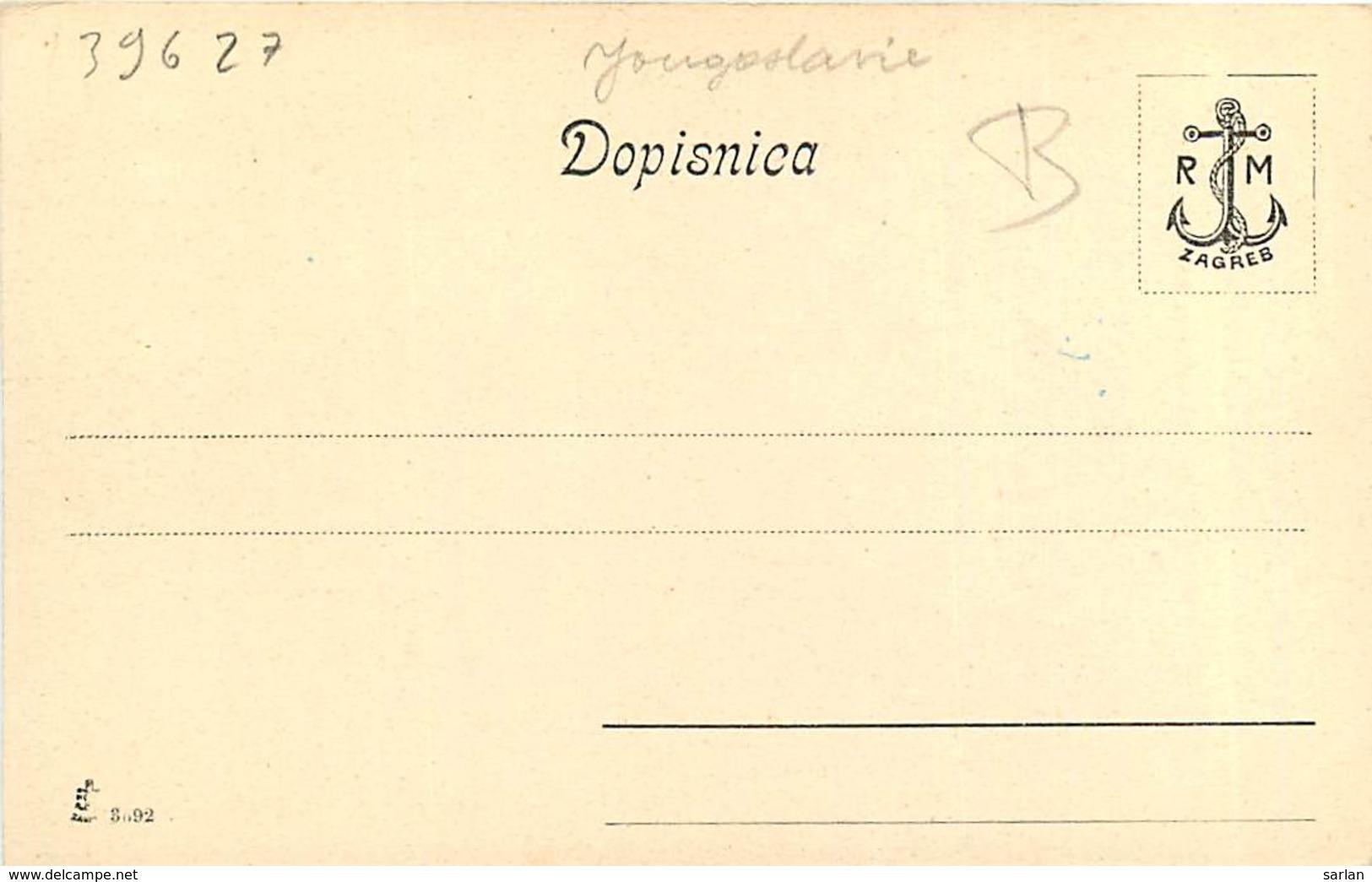 CROATIE , HRVATSKA NARODNA NOŠNJA ( Fileuse ) , * 396 27 - Croatia