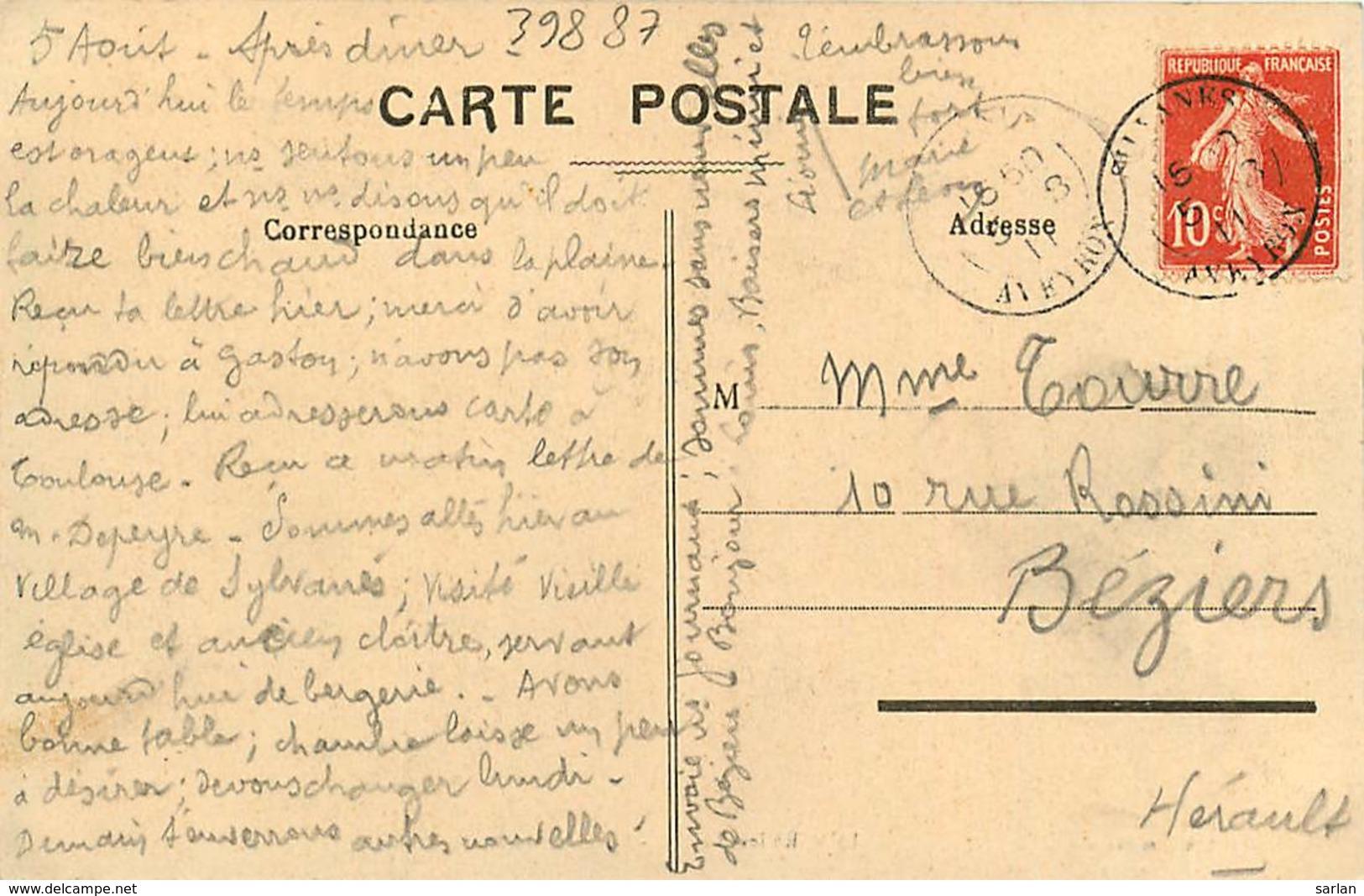 12 , SYLVANES-LES-BAINS , Fontaine Du Parc , * 398 87 - Francia