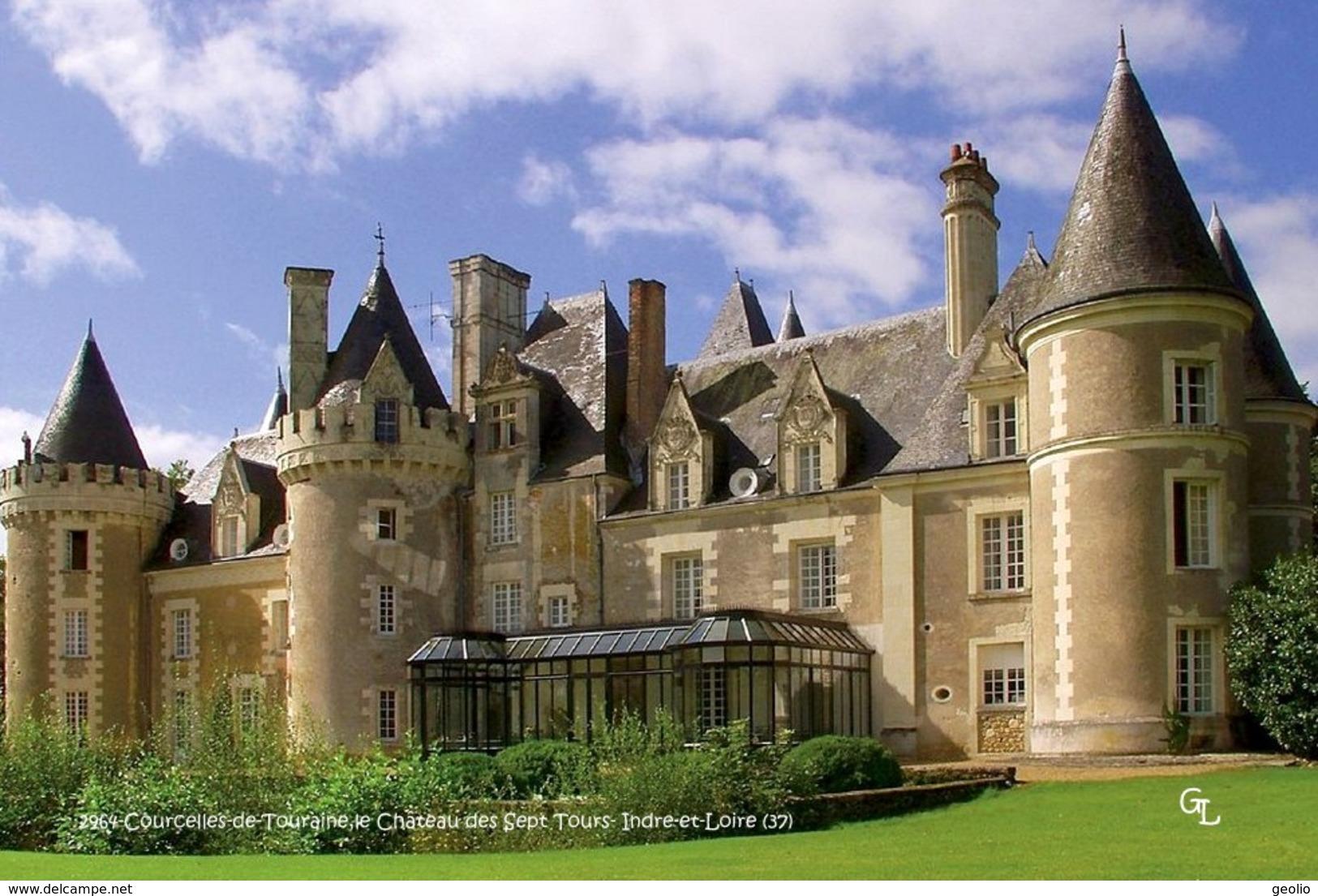 Courcelles-de-Touraine (37)- Château Des Sept Tours (Edition à Tirage Limité) - Frankreich